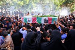 تشییع پیکر شهید تازه تفحص شده علی محمدرضایی