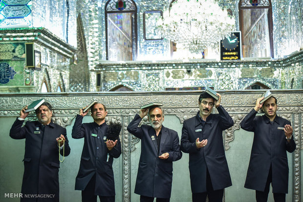 Night of Decree observed at Hazrat Masoumeh shrine