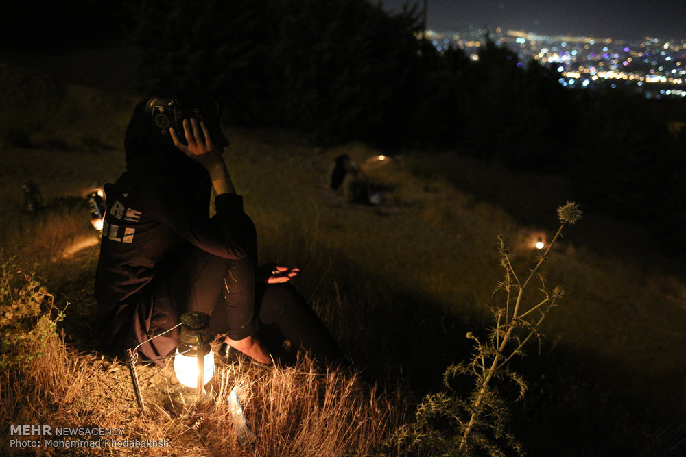مراسم احیای شب بیست و یکم ماه رمضان در کهف الشهدا