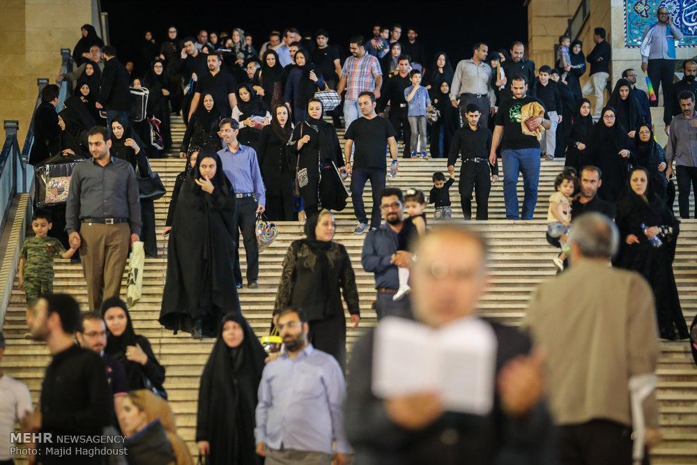 مراسم احیای شب بیست و یکم ماه رمضان در مصلی امام خمینی (ره)