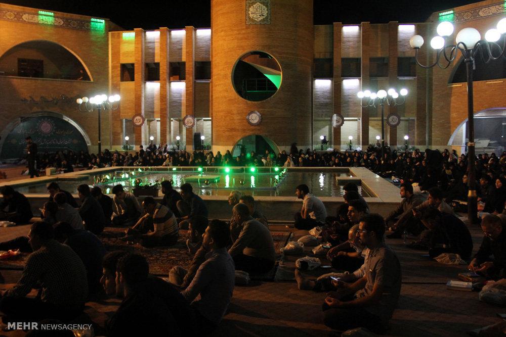مراسم احیای شب بیست و یکم ماه رمضان در ارومیه