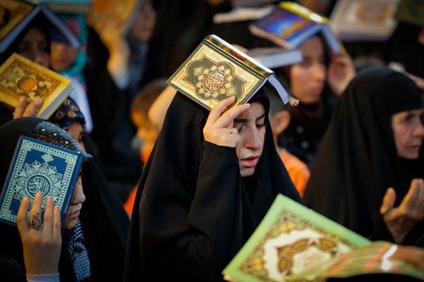 طنین «بک یا الله» در منازل/دعا برای اشتغال جوانان، شکر برای امنیت