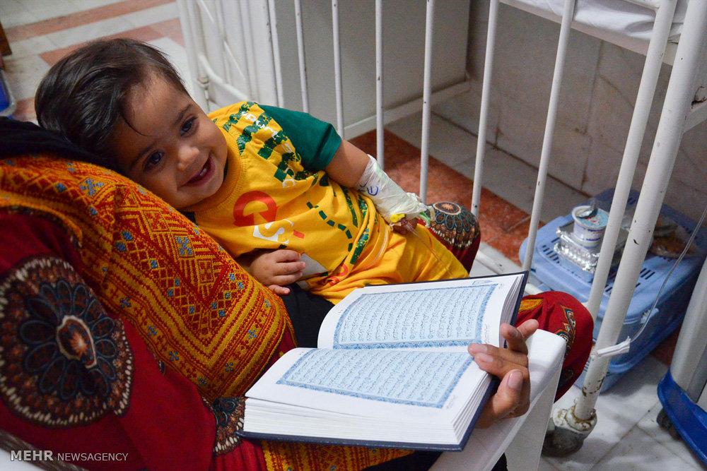 شب بیست و یکم ماه رمضان در بیمارستان کودکان گرگان