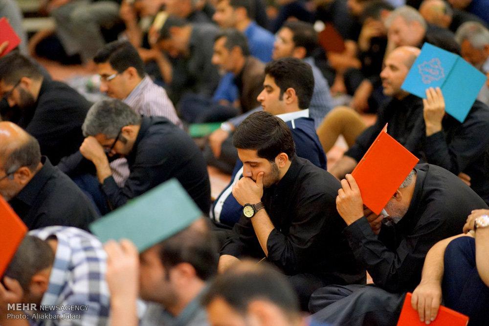 مراسم احیای شب بیست و یکم ماه رمضان در مصلای گرگان