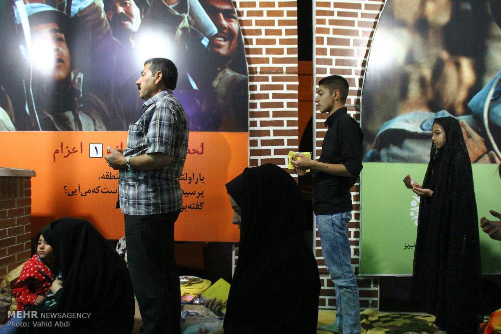 مراسم احیای شب بیست و یکم ماه رمضان در گلزار شهدای تبریز