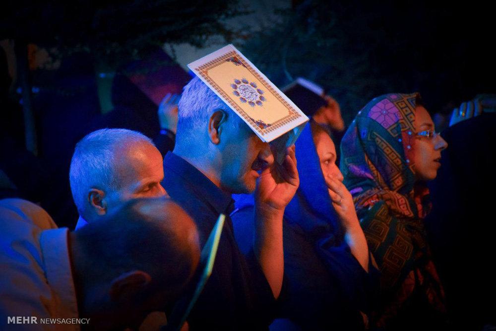 مراسم احیای شب بیست و یکم ماه رمضان در گرگان
