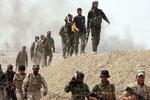 حمله ائتلاف آمریکایی به مواضع حشد شعبی در غرب الانبار
