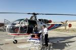 تصادف در محور چالوس/مصدومان با بالگرد اورژانس منتقل شدند