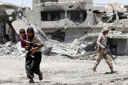 Çocukların Musul savaşından kurtarılması