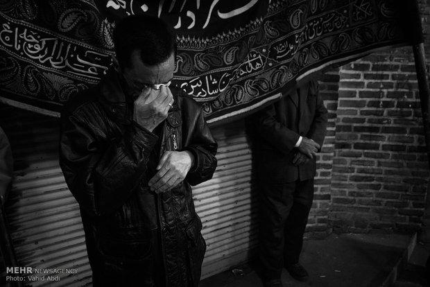 مشاهد إحياء ذكرى إستشهاد إميرالمؤمنين على ابن ابيطالب (ع) في مدينة تبريز