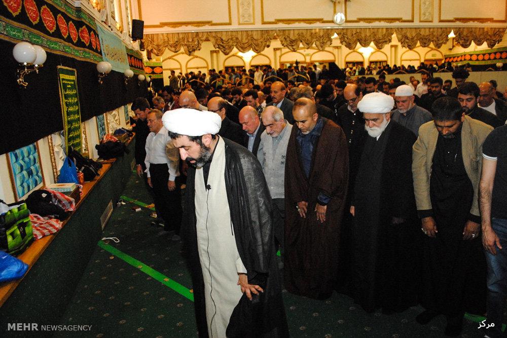 عزاداری سالروز شهادت امیر مومنان علی (ع) در مرکز اسلامی انگلیس
