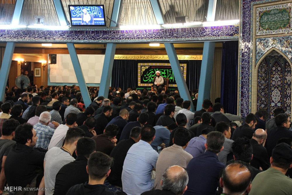 مراسم احیای شب بیست و یکم ماه مبارک رمضان در مرکز اسلامی هامبورگ