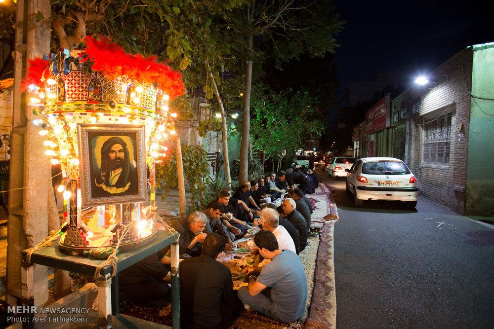 عزاداری سالروز شهادت امیر مومنان علی (ع) در تکیه صنف پرده فروشان