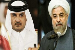 Rouhani vows stronger ties with embattled Qatar