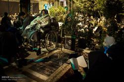 شاہرود کے گلزار شہداء میں شب قدر عقیدت و احترام کے ساتھ منائی گئی