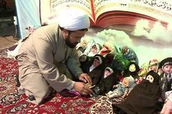 عزم راسخ روحانی شاهرودی در تبلیغ دین/ وقتی عروسکها محجبه میشوند