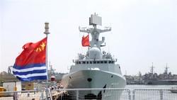 Iran China military drill