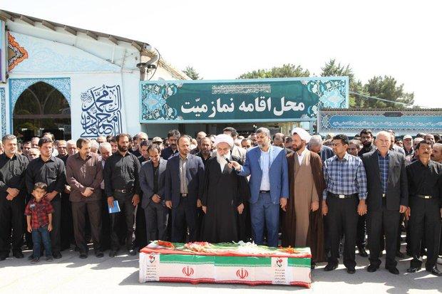 تشییع شهید سلمان فهیمی