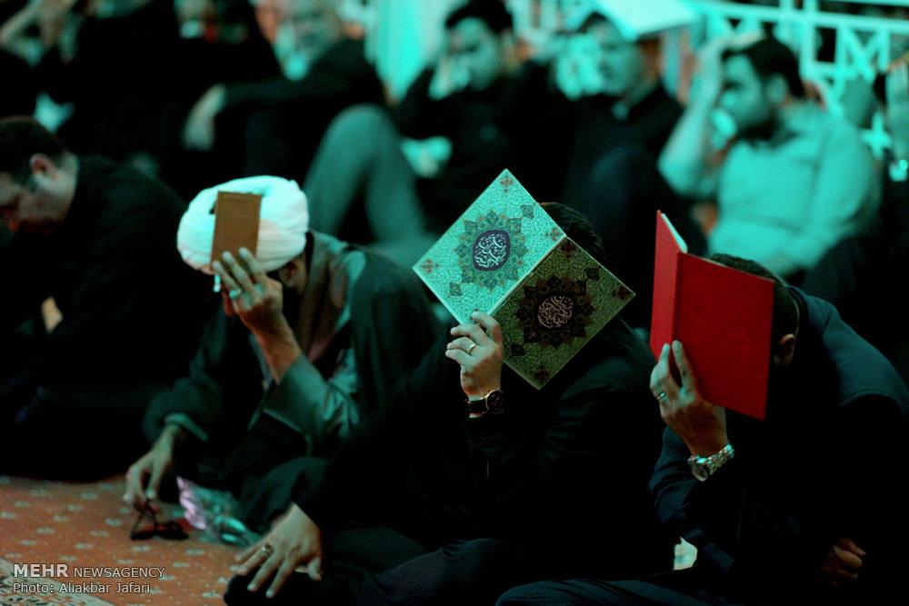 مراسم احیای شب بیست و سوم ماه مبارک رمضان در گرگان