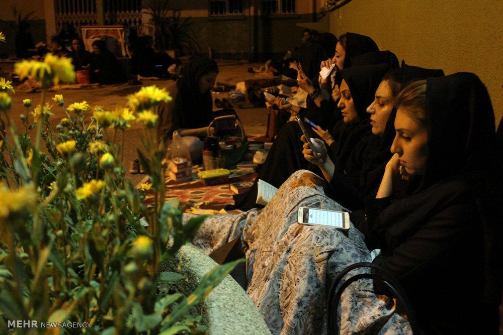 مراسم احیای شب بیست و سوم ماه رمضان در دانشگاه علوم پزشکی ارومیه