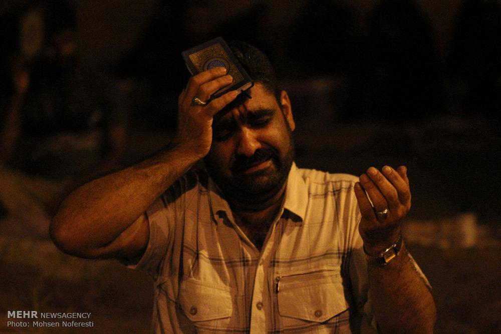 مراسم احیای شب بیست و سوم ماه رمضان در بیرجند