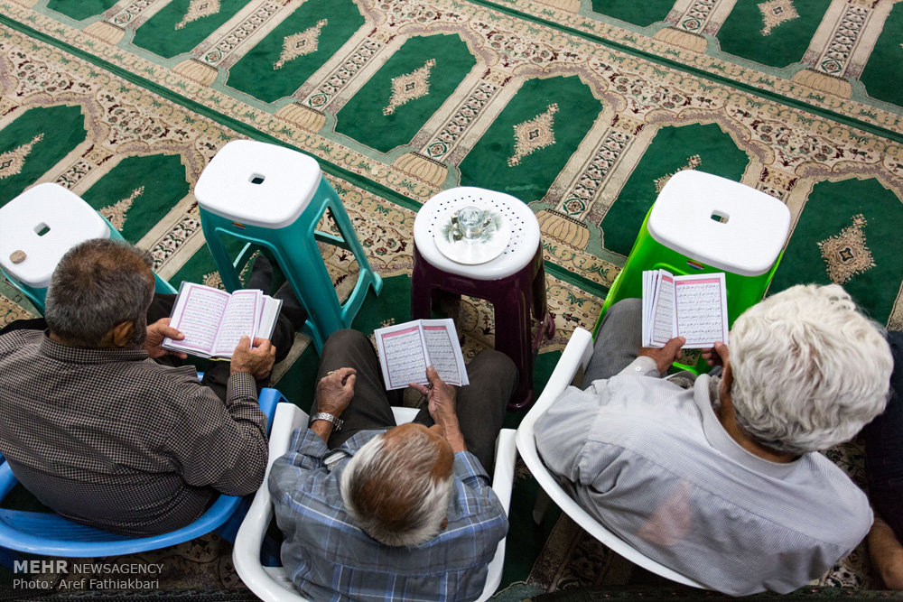 مراسم احیای شب بیست و سوم ماه رمضان درآستان مقدس امامزاده یحیی(ع)