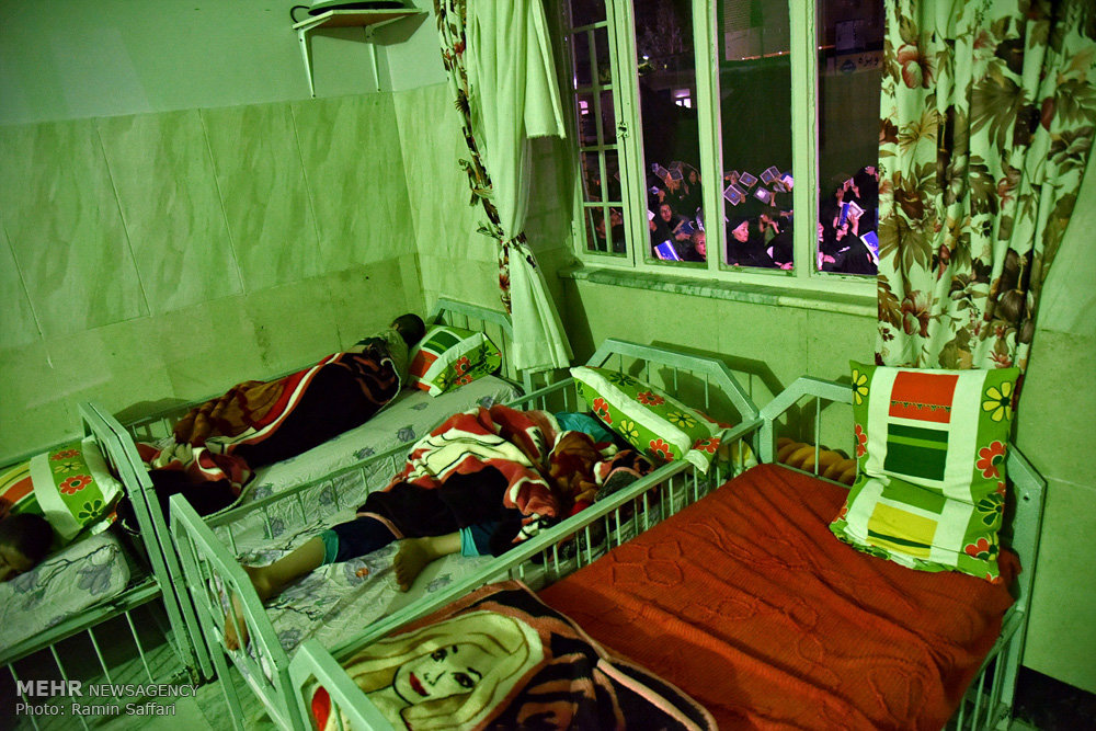 مراسم احیای شب های قدر در آسایشگاه معلولین شهید بهشتی مشهد