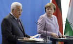 Abbas eyes Merkel as Plan B if Trump fails on Mideast peace