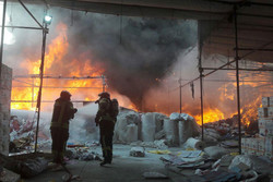 آتش سوزی باقرشهر