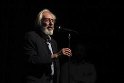 جمشید مشایخی در افتتاحیه نمایش پالت