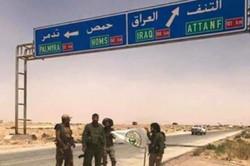 حرس الحدود العراقي يتقدم على الحدود السورية من منفذ الوليد باتجاه منفذ القائم