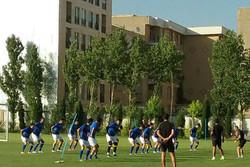 تمرین تیم استقلال