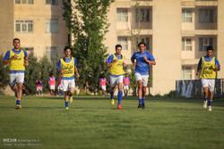 اولین تمرین تیم استقلال