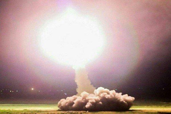 حمله موشکی سپاه به سوریه
