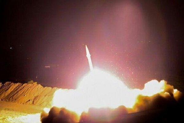 حمله موشکی سپاه به تروریست های تکفیری در دیروالزور