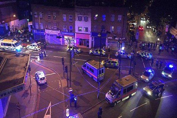 حمله خودرو به مسلمانان در لندن