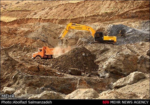 معدن خاک