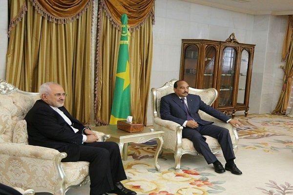 ظریف در موریتانی