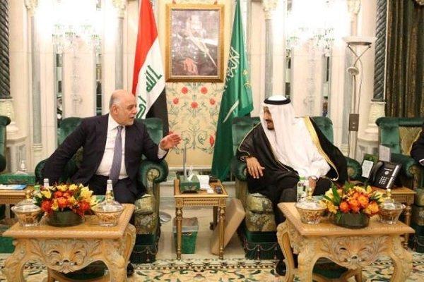 حیدر العبادی با ملک سلمان دیدار کرد,