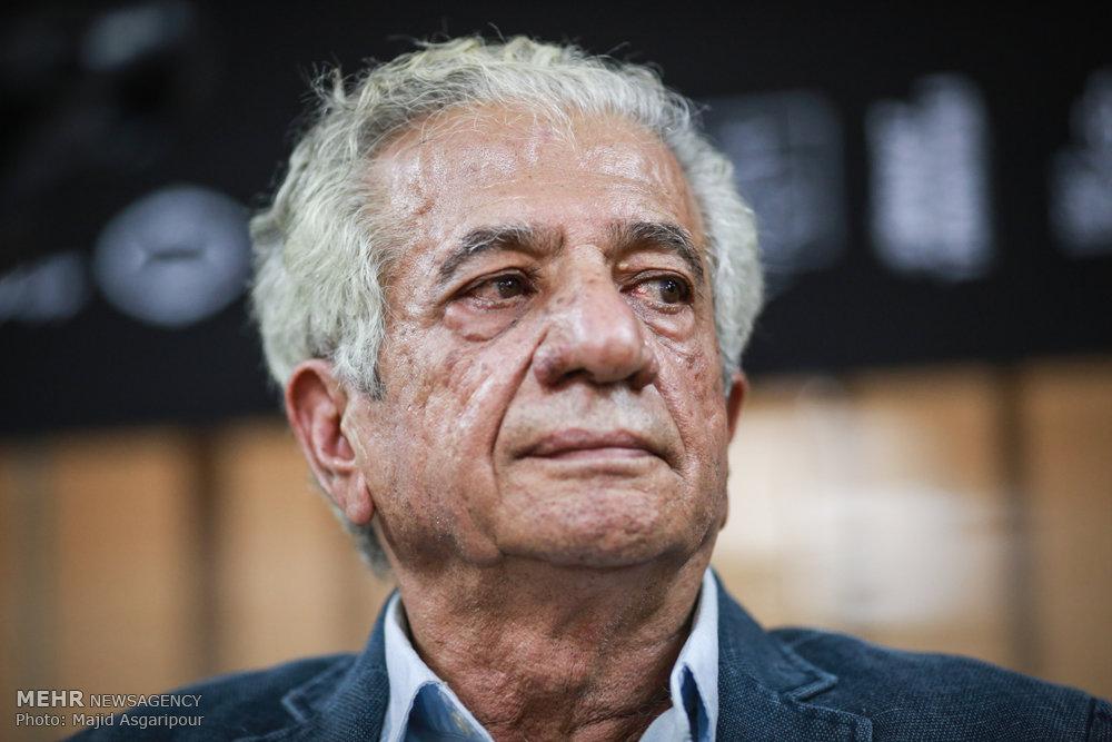 نشست خبری نمایشگاه آثار پرویز تناولی