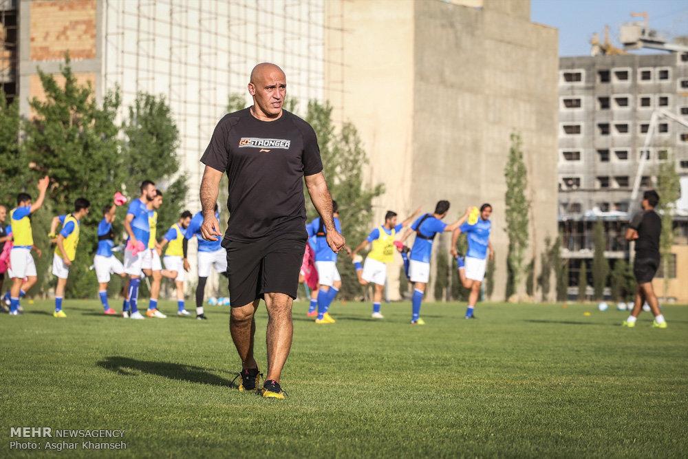 اولین تمرین تیم استقلال تهران