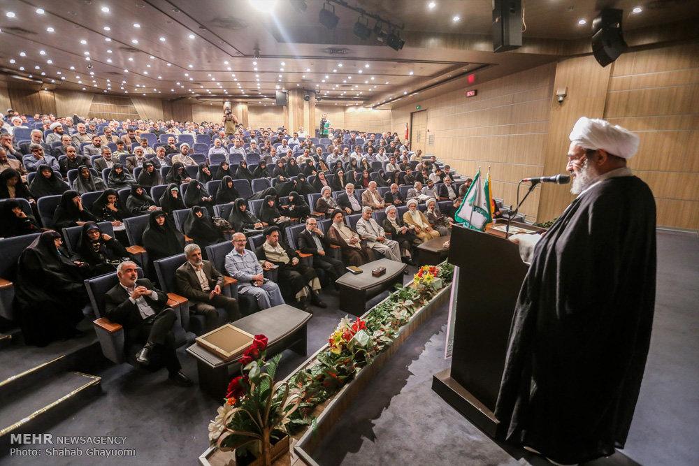 مراسم تقدیر از کاندیداهای جبهه مردمی نیروهای انقلاب اسلامی