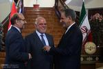 تہران میں عراقی وزیر اعظم کا باقاعدہ استقبال