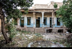 Picture depicts the ruins of Vakili Mansion in Neyshabour, northeast Iran, June 19, 2017.