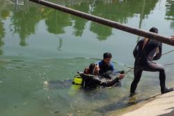 جسد نوجوان غرق شده در رودخانه آبیک از آب گرفته شد