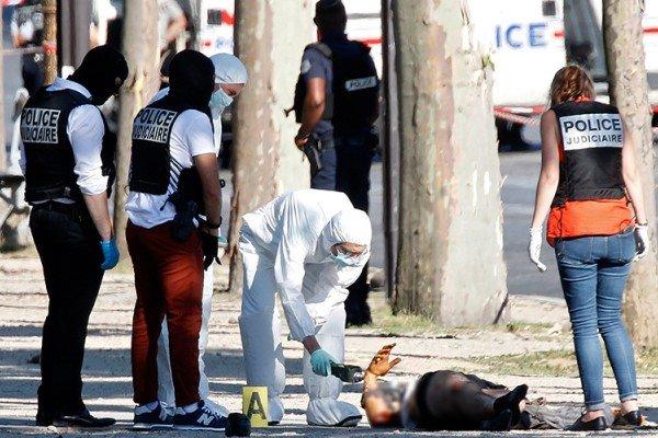 حمله تروریستی در شانزه لیزه پاریس