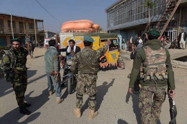 8 local Afghan guards shot dead near US base