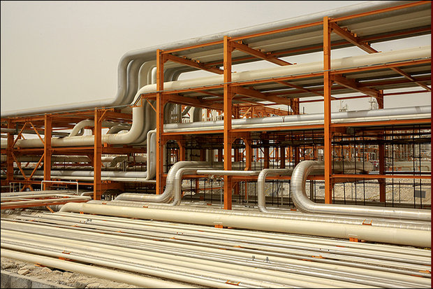 برداشت بیش از ۹ میلیارد متر مکعب گاز از میدان گازی پارس جنوبی