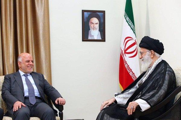 قائد الثورة الإسلامية يستقبل حيدر العبادي