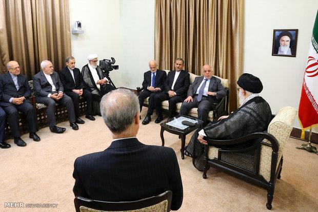 Ayatollah Khamenei received Iraqi PM